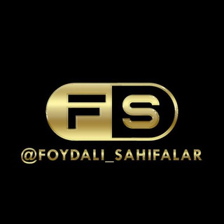 Foydali_Sahifalar - telegram channel